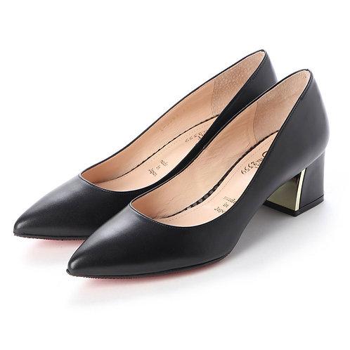 Chunky heel pumps Black