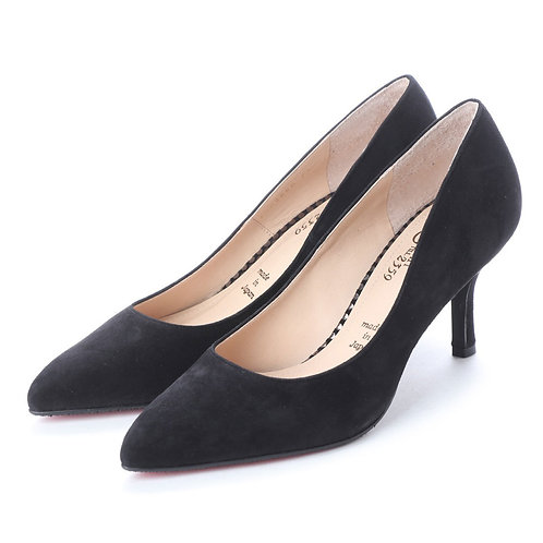 Suede pumps Black