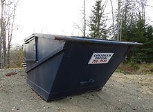 Ohio Brook Disposal dumpster available for your trash disposal.