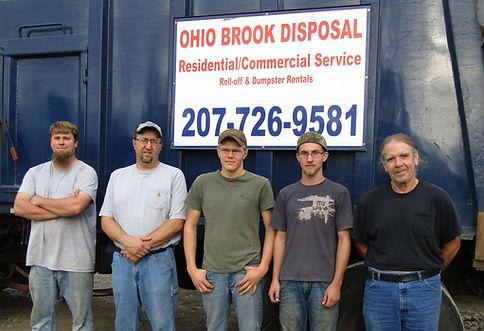 Ohio Brook Disposal employees