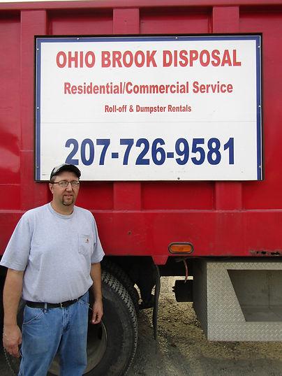 Ohio Brook Disposal owner Shane Curtis.