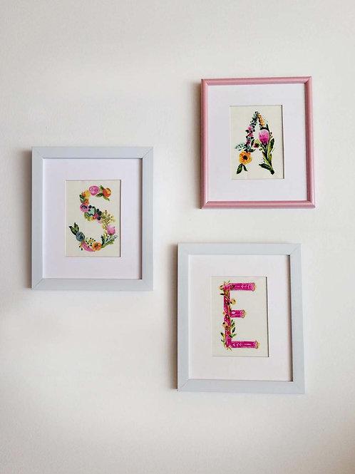 Cuadros de letras