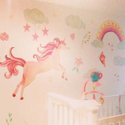 Sueño de unicornio