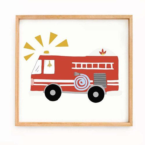 """""""Carro de bomberos"""""""