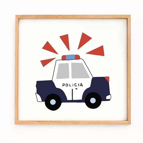 """Carro policía"""