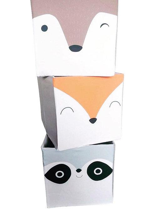 Cajas de almacenajede animales