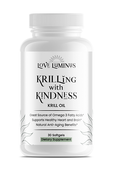 Krilling with Kindness KRILL OIL