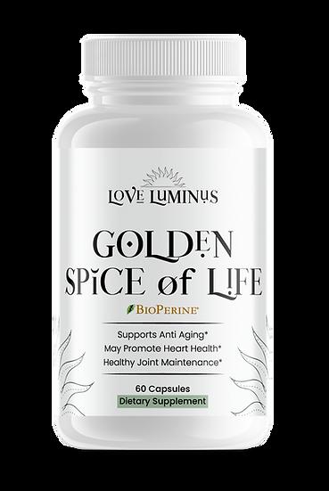 Golden Spice of Life ORGANIC TURMERIC
