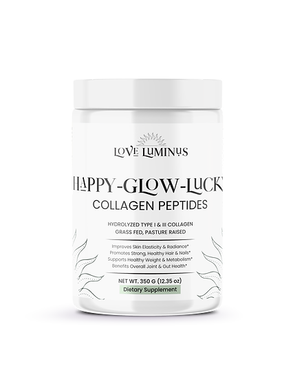 Happy-Glow-Lucky COLLAGEN PEPTIDES (Grass-Fed/Pasture Raised)