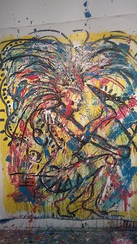 Battle 1 Painting