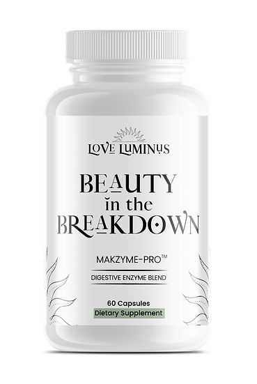 Beauty in the Breakdown DIGESTIVE ENZYME BLEND