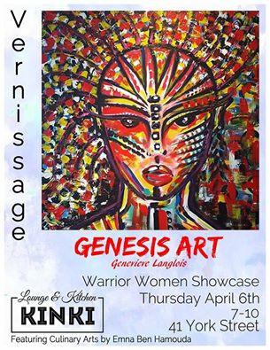 Vernissage - Genesis Art (Geneviève Langlois)