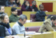 A section of the audience in the inaugur