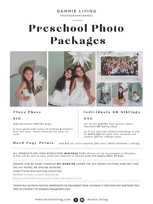 Preschool Photo Order