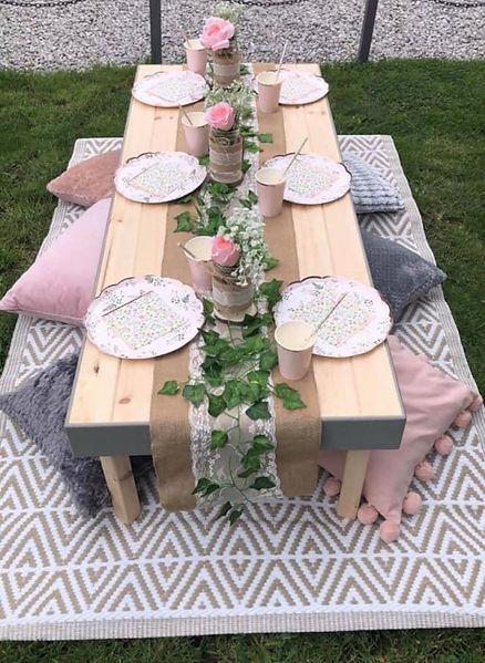 Picnic Table hire