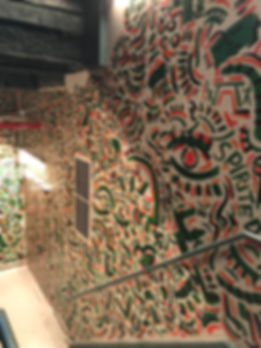 Jackson Park Mural in its Ammenities's buidling 9 floor stairwell