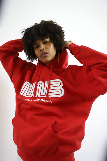 NNB - HOODIE CLASSIC RED