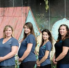 Our wonderful massage therapists!