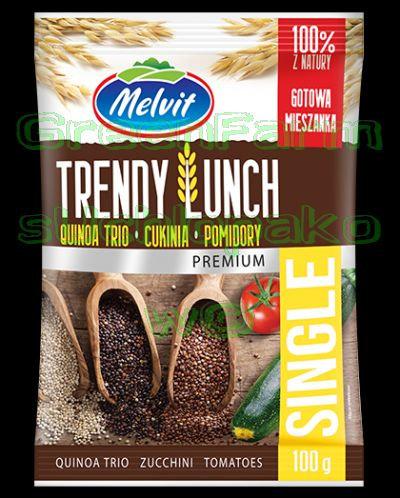 Trendy Lunch (quinoa trio,zuccini,tomato)