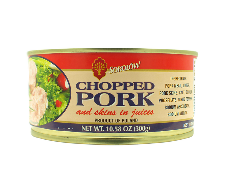 Chopped pork Sokolow
