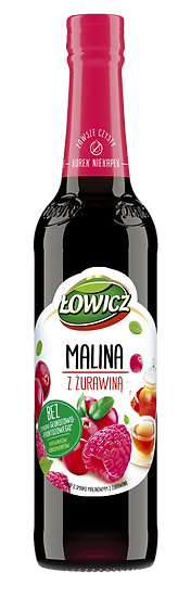 Sok Malinowy z Zurawina