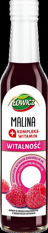 Sok Malinowy z Witaminami 0.2 L