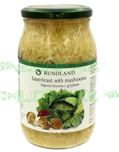 Sauerkraut with Mushroom (kapusta kiszona z grzybami)