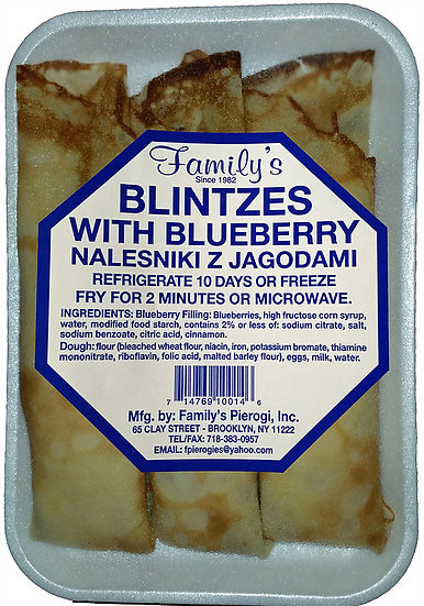 Blinzes Blueberry and cheese 3Pc.