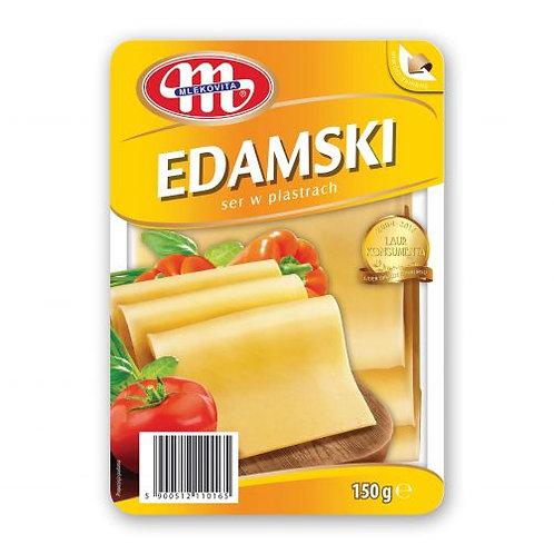 Ser Edamski w Plastrach 150g.
