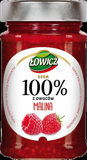 Dzem Malina 100% z owocow