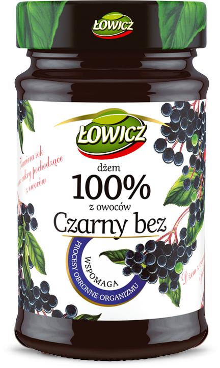 Dzem Czarny Bez 100% z owocow