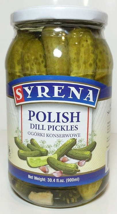 Polish Dill Pickles