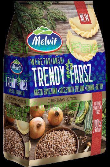 Trendy stuffing ( buckweat,zuccini,mushroom)