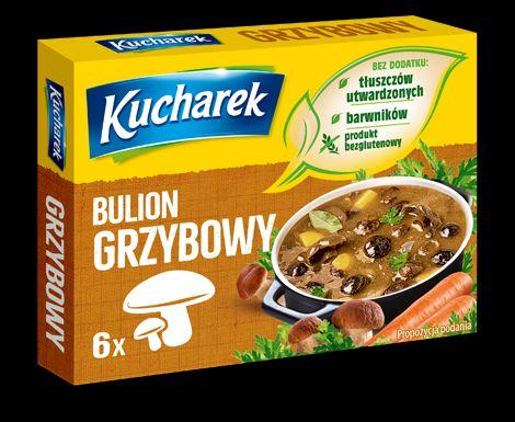 Mushroom Cube Bulion Grzybowy