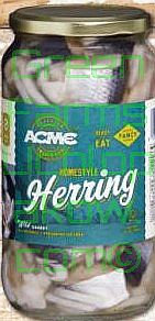 ACME Herrings in Grape Vinegar Cuts  32 Oz.