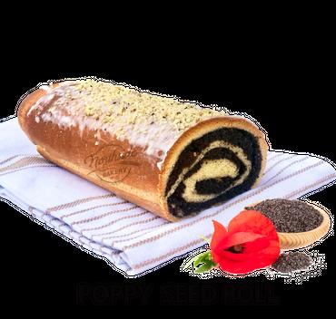 Poppy Seed Roll 1/2 pc.