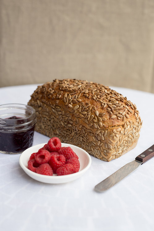 SPELT Country style with sunflower
