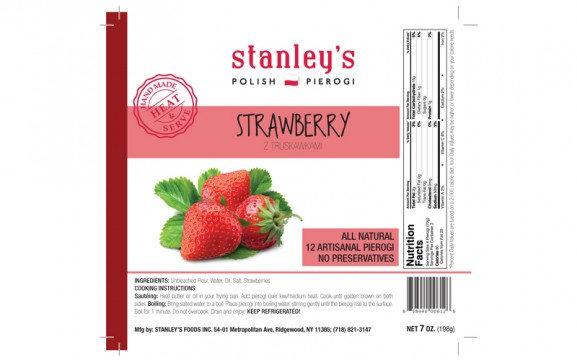 STRAWBERRY  STANLEY'S PIEROGI