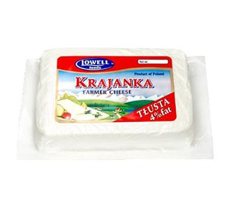 Ser Bialy Krajanka 4% tluszczu ~1lb.
