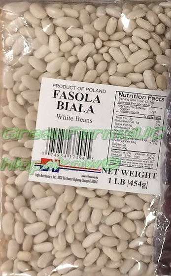 White Beans Small 454g.