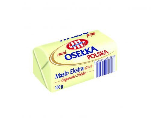 Masło Mini Osełka Polska 82% Tłuszczu 100g