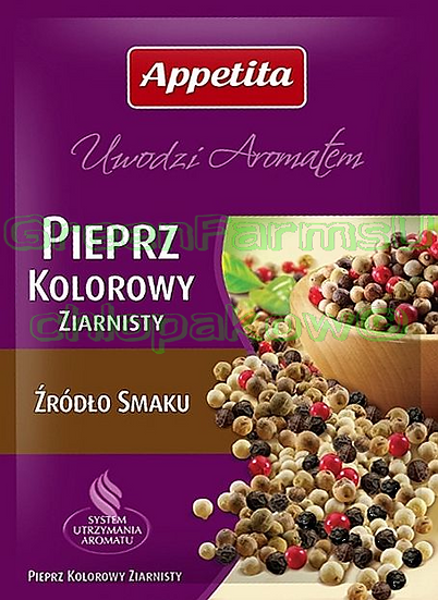 Color Pepper Pieprz kolorowy Ziarno