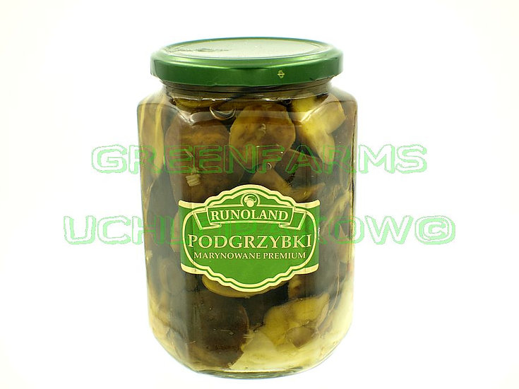 Premium Bay Bolete in vinegar ( Podgrzybki marynowane Premium)