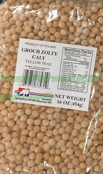 Yellow Peas  whole  454g.