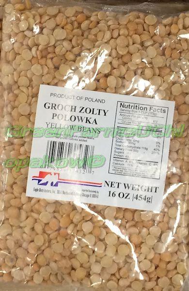 Yellow Peas half's 454 g
