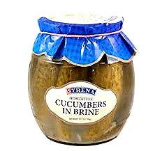 Polish Cucumbers in Brine Syrena or Belveder