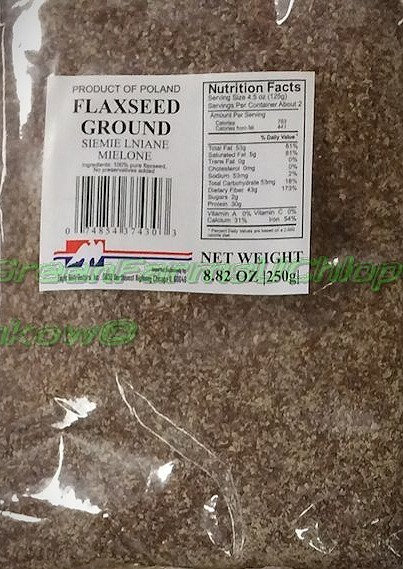 Flaxseeds Ground250 g