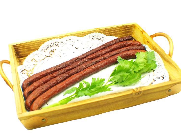 Smoked Pork and Veal thin sausage (kabanos)