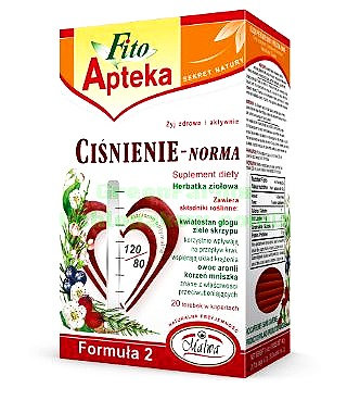 High Blood Pressure Regulator ( Cisnienie NORMA) 20pc/pk