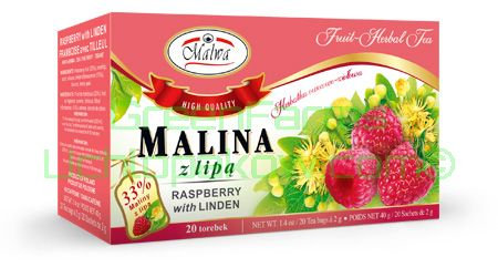 Raspberry with Linden Tea
